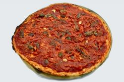 pizza al piatto, marinara
